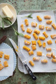 gluten-free pumpkin, quinoa + hazelnut gnocchi • canelle et vanille