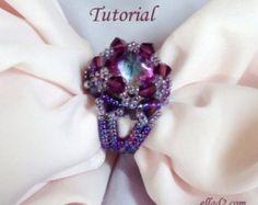 Tutorial Cher Ring - Beading pattern PDF
