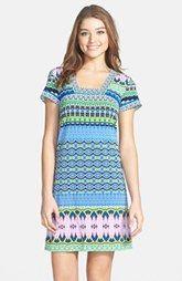 Laundry by Shelli Segal Print Matte Jersey Shift Dress (Petite)
