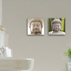 Deco Glass Enlightened 2 Piece Photographic Print Set