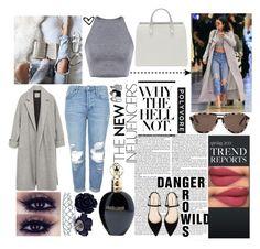 """kylie jenner"" by jona-zaloznik ❤ liked on Polyvore featuring Topshop, Zara, Comfort Zone, STELLA McCARTNEY, Kate Marie and Roberto Cavalli"