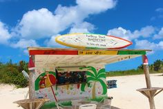 Perfect Caribbean Beach Bar - Garvey's Sunshine Shack in Anguilla (Photos by Caribbean Journal) Best Bed And Breakfast, Island Theme, Secluded Beach, Beach Bars, Small Island, The Fresh, Small Trailer, Rum, Caribbean