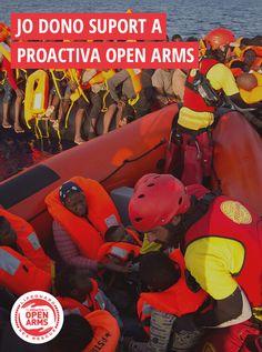 Descobreix la feina de Proactiva Open Arms i la seva promesa de no deixar més vides a la deriva. https://proactivaopenarms.org/ca