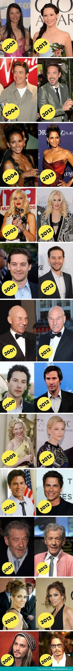 12 Celebrities that dont seem to age