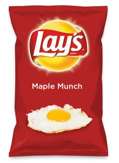 Wouldn't Maple Munch be yummy as a chip? Lay's Do Us A Flavor is back, and the search is on for the yummiest flavor idea. Create a flavor, choose a chip and you could win $1 million! https://www.dousaflavor.com See Rules.