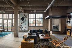 Industrial Loft by Studio Gild | HomeAdore