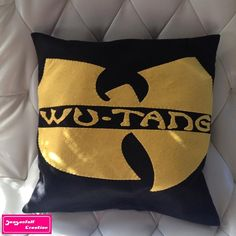 Coussin Wu Tang Clan de seasonfall creation sur DaWanda.com #wutangclan