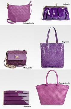 purses....I love purple