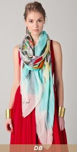 props to Yigal for making this amazing scarf / wear over dresses, tanks, Ts to complement bump