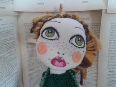 Poupette Olimpia OOAK cloth doll rag doll by Poupettes on Etsy, €72.00