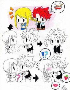 NaLu Anime Fairy Tail by Flamebrain   We Heart It
