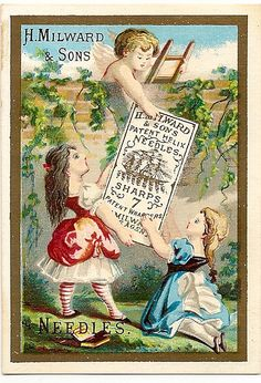H. Milward & Sons Needle trade card. | Flickr - Photo Sharing!