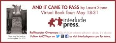 #ReleaseTour ? And It Came To Pass by Laura Stone + Interview & Giveaway