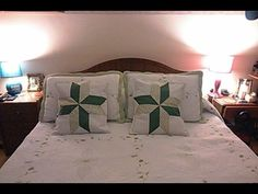 Cojinde con Estrella - Irma Ramos - YouTube Bed Pillows, Cushions, Pillow Cases, Quilts, Furniture, Youtube, Cactus, Home Decor, Weight Loss
