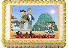 Wild Kratts Edible Birthday Cake Topper. $8.50, via Etsy.