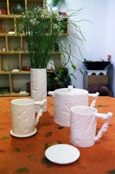 slip casting - coffee set