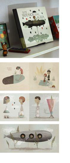 Los sueños del agua. Texto: María del Carmen Colombo. Ilustración: Cristian Turdera