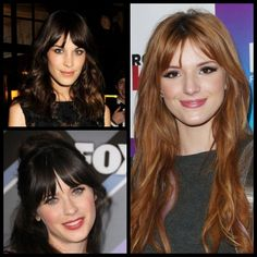 Zooey Deschanel, Alexa Chung, and Bella Thorne have refreshed their looks with this pretty trend. Center-parted bangs are a great option if you're transitioning from a straight heavy fringe to a si...