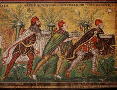 "Found the picture from our book's chapter!! ... Wish I could find the direct source. ""Early middle ages""/Byzantine Empire. I would say high West-influence. Yet take a look at the hight of their tunics... & their decorated leggings (stockings). ;D (Makes me think this is from the earlier Byzantine centuries rather than later)."