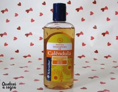 Shampoo de calêndula para cabelos oleosos da Schraiber