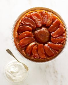 Tarte Tatin -this classic French Bistrot dessert is even easier to make than an apple pie!