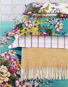 Joules Cambridge Floral Cushion