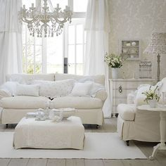 Go for a French country-style theme | Living room | PHOTO GALLERY | Ideal Home | Housetohome.co.uk