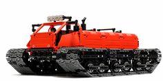 https://flic.kr/p/CgSnvF | Arctic snowmobile Total weight – 2650 g, dimensions – 40 x 31 x 18 cm, clearance – 4.8 cm. |  Desert Eagle LEGO Technic Creations www.youtube.com/watch?v=NaOXizjO7pI