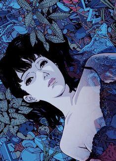 One of Satoshi Kon 's epic works, Perfect Blue Art Manga, Manga Anime, Anime Art, Art Et Illustration, Character Illustration, Aesthetic Art, Aesthetic Anime, Japanese Art, Japanese Graphic Design