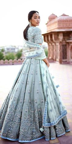 Good Free of Charge Indian Wedding Dresses: 21 Exciting Fusion Ideas Popular Beautiful Wedding Dresses ! The present wedding dresses 2019 includes twelve different dresses in th Indian Lehenga, Blue Lehenga, Sabyasachi Lehenga Bridal, Floral Lehenga, Indian Saris, Bollywood Lehenga, Red Indian, Lehenga Style, Indian Bridal Outfits