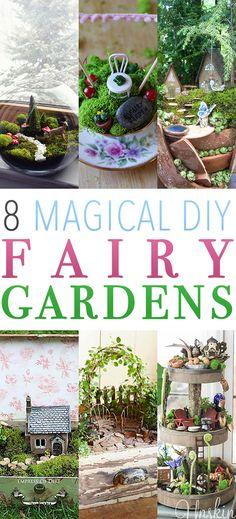 25 Cute DIY Fairy Furniture and Accessories For an Adorable Fairy Garden Diy Garden Projects, Garden Crafts, Garden Ideas, Compost, Indoor Palms, Backyard Ideas For Small Yards, Fairy Garden Furniture, Fairy Crafts, Gnome Garden