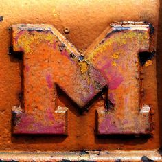 letter M - part of a collection of Letters available for downloading - by Leo Reynolds, via Flickr