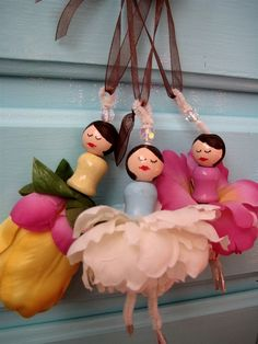ballet ornaments