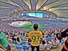 Argentina: Germany / @Estádio do Maracanã (Maracanã Stadium) via Cesar T. live pic via foursquare.com