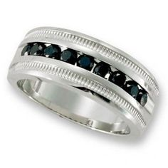 Men's Black Diamond Rings