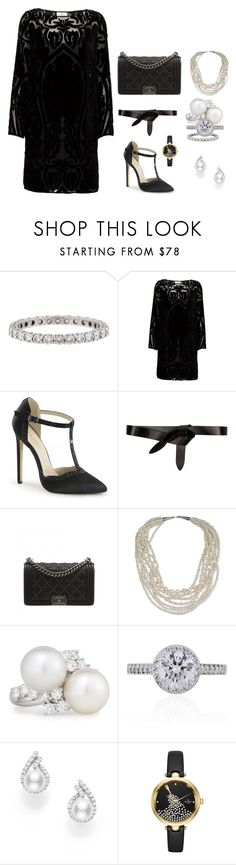 """2024 -"" by dezac-novaes on Polyvore featuring Tiffany & Co., DAY Birger et Mikkelsen, Étoile Isabel Marant, Chanel, NOVICA, Assael, Mikimoto and Kate Spade"