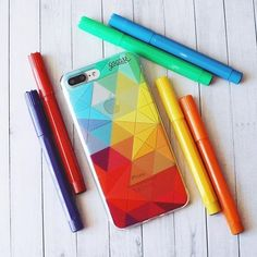 Your phone will look so colorful with this cool case!All our cases can be found on our website goca.se/buy #instadaily #instamood #iphone #phonecase #samsung. Phone case by Gocase www.shop-gocase.com