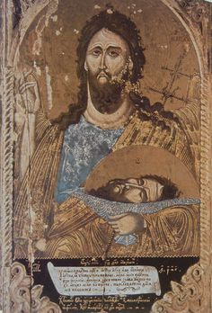Orthodox icons / Icons of John the Baptist Middle Age Fashion, Russian Icons, Byzantine Icons, John The Baptist, Religious Icons, Orthodox Icons, Christian Faith, Middle Ages, Saint John