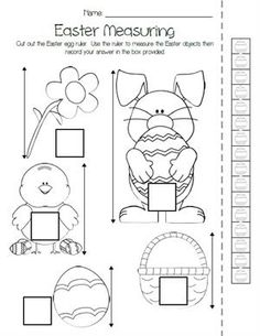 """Click Here to Print the FREE Easter Egg Shapes Worksheet!   Help your students become familiar with common shapes while learning color recognition and fine motor skills with this """"color the shapes""""..."""