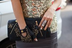FRONT ROW: Studded Look