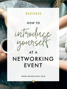 Networking events have been around forever, and yet, people still haven't really mastered how to properly introduce themselves. Learn how now. ATTENTION: Are YOU Serious About Networking Quotes, Business Networking, Business Tips, Networking Events, Bookkeeping Business, Event Marketing, Business Marketing, Marketing Plan, Business Branding