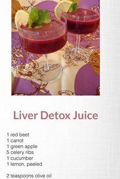 "Liver detox juice ""Juice and Blend"" magazine"