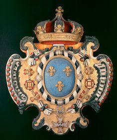 Armoiries royales de France, vers 1727.ville de Québec