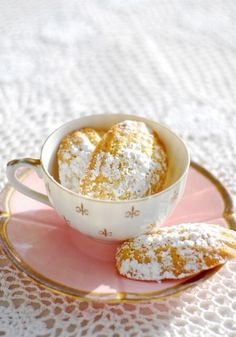 The classic French tea treat. Madelines…
