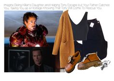 """Imagine Being Killian's Daughter and Helping Tony Escape but Your Father Catches You, Taking You as a Hostage Knowing That Tony Will Come To Rescue You"" by fandomimagineshere ❤ liked on Polyvore featuring Urban Outfitters and Topshop"