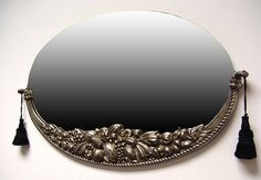 Petito French Art Deco Wall Mirror