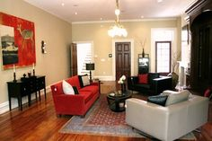 Red Sofa Design Ideas, Pictures, Remodel, and Decor - page 2
