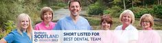 Infinityblu Dental Care shortlisted for the Best Dental Team in the Dentistry Scotland Awards.  The awards ceremony is in Novemeber 2012 at Gleneagles Hotel. Infinityblu Dental Care Pitlochry  Perthshire Scotland. www.infinitybludental.co.uk