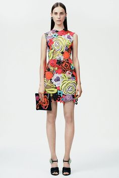 I love the embroidery and pattern of this dress - Christopher Kane