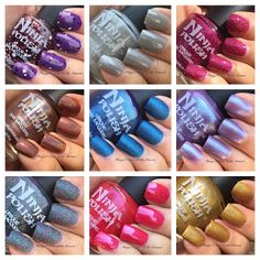 Things I Love At the Moment: Ninja Polish Nothing Stays in Vegas Collection part 2